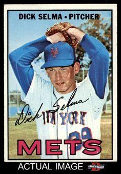 1967 Topps #386  Dick Selma EX L29209 #Mets