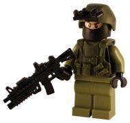Army Force - Breacher - Custom Minifig