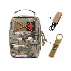 Tactical Pouches, Molle Pouches, First Aid Supplies, Medical Bag, Outdoor Store, Survival Tools, First Aid Kit, Army Green, Edc