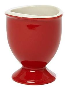 LINEA  Curve Set Of 4 Egg Cups Red