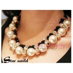 I find an excellent product on @BornPrettyStore, Necklace Fashion Elegant Gold Rhinestone Whit... at $11.81. http://www.bornprettystore.com/-p-6058.html
