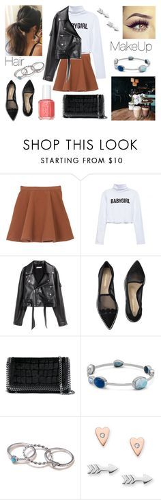 """""""05/06/17"""" by milena-serranista ❤ liked on Polyvore featuring SKINN, Nicholas Kirkwood, STELLA McCARTNEY, BillyTheTree, With Love From CA, FOSSIL and Essie"""