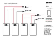 Connecting 12v solar panels in parallel solar energy products joining solar panels in parallel solar panel wiring diagrams marsol industries online solar store asfbconference2016 Gallery