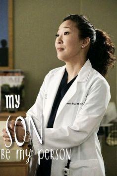 You are my person Cristina Yang Grey's anatomy #Mertina #Couple
