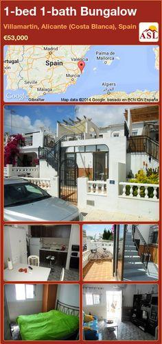 1-bed 1-bath Bungalow in Villamartin, Alicante (Costa Blanca), Spain ►€53,000 #PropertyForSaleInSpain