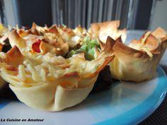 La cuisine en amateur de Maryline: Mini bouchée de lasagnes