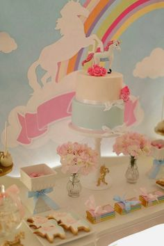 Little Big Company | The Blog: A Gorgeous Unicorn Party by Cakes by Sharon