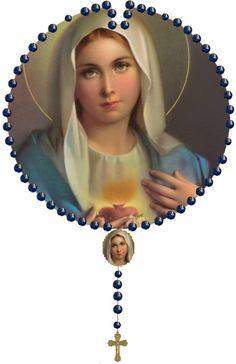 Maryja Królowa Różańca Świętego ! <3