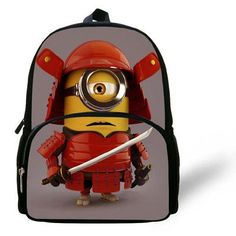 fdf7d1643b 12-inch Mochila School Kids Backpack Minions Bags Despicable Me Boys School  Bags Backpack Child Age 1-6