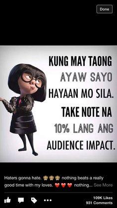 Tagalog Love Quotes - May Nagugustuhan ka ba ngayon? Tagalog Quotes Funny, Tagalog Quotes Hugot Funny, Pinoy Quotes, Sarcastic Quotes, Quotable Quotes, Filipino Quotes, Filipino Funny, Quotes Thoughts, Life Quotes