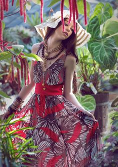 Stunning fashion photography in nature