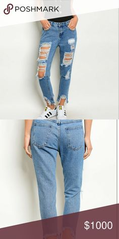 COMING SOON! Rockin Distressed Jeans! Coming soon with more details!! Super hot rockin distressed jeans!! Pants Ankle & Cropped