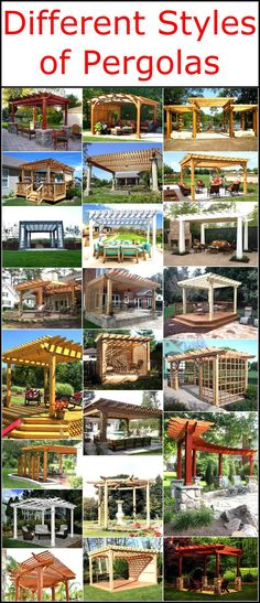 Different Styles of Pergolas