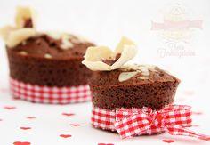 csokis, mandulas muffin
