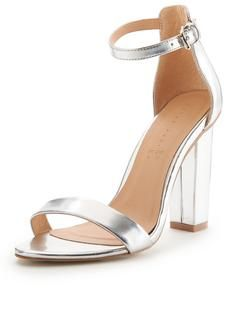 Shop Very for women's, men's and kids fashion plus furniture, homewares and electricals. Bridesmaid Shoes, Bridesmaids, Kids Fashion, Womens Fashion, Shoe Box, Block Heels, Ankle Strap, Sandals, Stuff To Buy