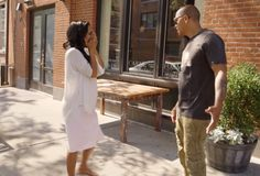 We pick up where we left off with Amina tracking Peter down while he's having lunch with his family – the other family – the one with Tara... Please read more and join in at: http://allaboutthetea.com/2015/01/06/love-hip-hop-new-york-recap-s5e3/