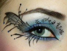 Gorgeous fairy make-up. Renn Faire!