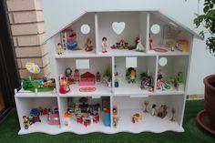 Maison playmobil dyi playmobil pinterest maison et - Construire une maison playmobil ...
