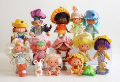 Oodles of Strawberry Shortcake doll fun! #vintage #retro #toys #nostalgia #1980s