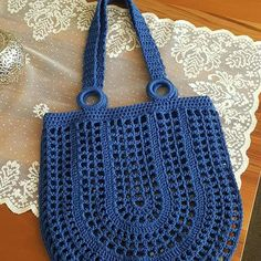 # Häkeltasche How to Make Crochet Bag: Step by Step Photos- Como Fazer Bolsa de Crochê: Passo a Passo Fotos # Häkeltasche How to Make Crochet Bag: Step by Step … - Bag Crochet, Crochet Market Bag, Crochet Shell Stitch, Bobble Stitch, Crochet Handbags, Crochet Purses, Crochet Crafts, Crochet Stitches, Crochet Projects