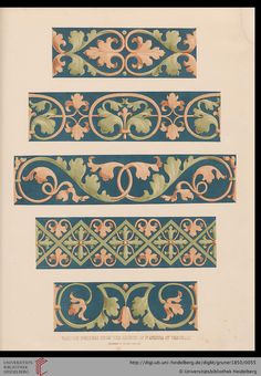 Gruner, Ludwig; Braun, Emil: Specimens of ornamental art selected from the best models of the classical epochs (London, 1850)