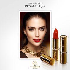 ¡Nunca son suficientes #labiales! El regalo perfecto es una lujosa barra de #labios con aceite de argán y protección solar FPS 15 en un tono clásico como rojo o un nude perfecto.