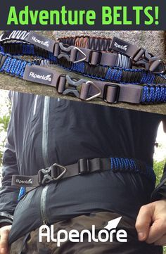 World`s most Compact Survival BELT with concealed Survival KIT + up to 50ft of ProCord to use in an emergency. www.alpenlore.com/shop