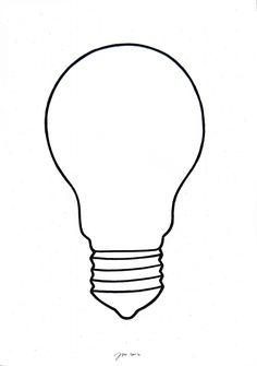 """andrea mattiello """"white lamp""""   acrilico su carta cm 32x45; 2012"""