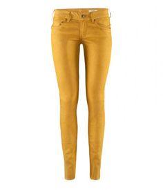 H mustársárga női skinny farmernadrág – Shopping.hu