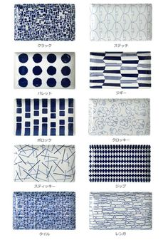 Japanese blue and white dishes Japanese Patterns, Japanese Design, Ceramic Clay, Ceramic Painting, Textures Patterns, Color Patterns, Kitchen Stories, Japanese Ceramics, Blue Plates