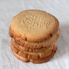 mycookiestamp.com // great x-mas gift idea - get your personalized cookie stamp