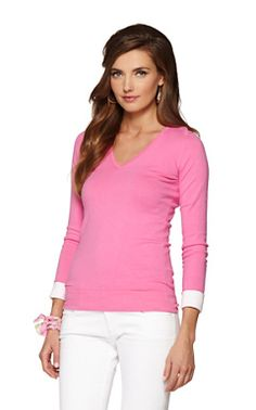 8f7db2a7df Annette V-Neck Sweater Resort Wear For Women