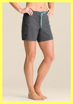 Athleta Gray / Blue Clearwater Board Swim Surf Paddle Shorts. Free shipping and guaranteed authenticity on Athleta Gray / Blue…