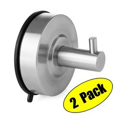 Shop KES SUS 304 Stainless Steel Suction Cup Hook Single Coat Hook Removable Bathroom Shower Towel Hook Kitchen Wall Hook Strong and Heavy Duty Contemporary Style, Brushed Finish 2 Pack, Free delivery on eligible orders of or more. Bathroom Shower Panels, Shower Towel, Glass Shower Doors, Bathroom Hardware, Bathroom Fixtures, Suction Cup Hooks, Modern Bathroom Sink, Kitchen Utilities, Towel Hooks