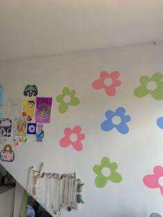 Cute Bedroom Ideas, Cute Room Decor, Room Ideas Bedroom, Teen Room Decor, Bedroom Decor, Bedroom Inspiration, Bedroom Inspo, Retro Room, Vintage Room