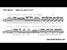 enter sandman drum sheet music pdf