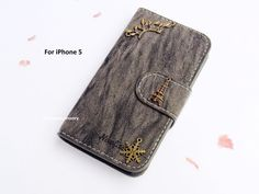 Leather Wallet Phone Case iPhone 5 case cover