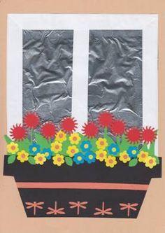 Diy And Crafts, Crafts For Kids, Arts And Crafts, Mom Cards, Handprint Art, Flower Crafts, Paper Flowers, Kindergarten, Crochet