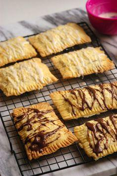 Bacon Jam Pop Tarts with Chocolate or Maple Glaze and Sea Salt