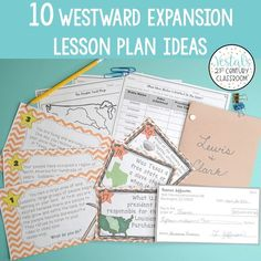 Westward Expansion Lesson Plan Ideas features 10 hands-on activities you can easily use to teach your Westward Expansion unit. #vestals21stcenturyclassroom #westwardexpansion #westwardexpansionactivities #westwardexpansionlessons #westwardexpansionunit