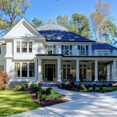 Traditional Home Exteriors, Traditional Decor, Traditional House, Traditional Home Plans, Traditional Bedroom, Traditional Kitchens, Shingle Style Homes, Colonial Style Homes, Shingle Style Architecture