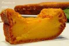 Receitas de pecados no prato: Bolo queijada de leite condensado