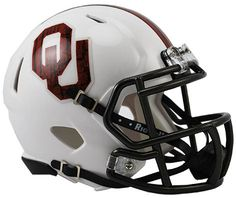 Old Ghost Collectibles - Oklahoma Sooners NCAA Riddell Bring the Wood Mini Speed Football Helmet, $24.99 (http://www.oldghostcollectibles.com/oklahoma-sooners-ncaa-riddell-bring-the-wood-mini-speed-football-helmet/)