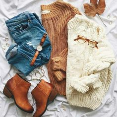Perfect Fall / Winter Look – Latest Casual Fashion Arrivals. - Street Fashion, Casual Style, Latest Fashion Trends - Street Style and Casual Fashion Trends Mode Outfits, Casual Outfits, Fashion Outfits, Womens Fashion, Fashion Trends, Outfits 2016, Fashion Ideas, School Outfits, Fashion Bloggers