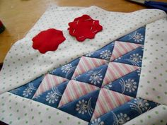 """Supergoof Quilts """"And Sweet William Girls ..."""""""