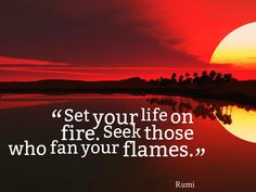 "Tim Fargo on Twitter: ""Set your life on fire. Seek those who fan ..."