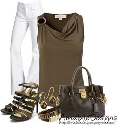 """""""Michael Kors Business Casual - Contest"""" by amabiledesigns on Polyvore"""