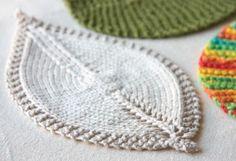 Modelli a maglia: le foglie | Handmade by Beads and Tricks