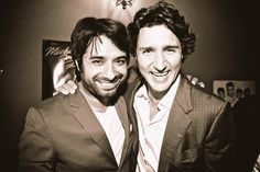 """Why don't you """"just kiss him"""" like Sophie told you to on the tv show you were both on. Trudeau Canada, Beer Memes, Western Canada, Trigger Happy, Justin Trudeau, Left Wing, Kissing Him, British Columbia, Famous People"""