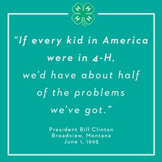 4 H Quotes Prepossessing 4H Is The Youth Development Program Of Cooperative Extension 4